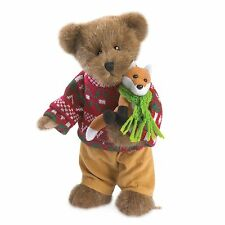 "Boyds Bears 10"" Holiday Goodfriends Bear ~ Cooper Goodfriend w/Lil' Sly 4041837"