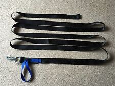 19 FOOT 6 inch WINCH STRAP WEBBING WITH QUALITY HOOK  BOAT TRAILER CAR ETC a