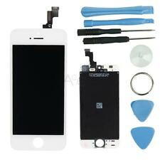 Front Housing LCD Display Touch Digitizer Screen Assembly for iphone 5S Whi