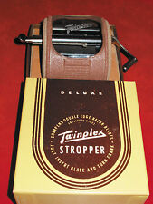 TWINPLEX Stropper Safety Razor Sharpener Vintage 1960's! Nearly new in box!!!
