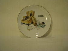 """Norman Rockwell Collectors Plate """"The Student"""" with original Box"""