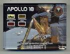 Four RARE Pieces of Kapton Foil From the Apollo 18 Lunar Module w/Documentation