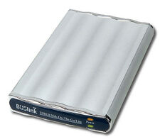 Disk-On-The-Go Dual Interface USB 2.0/ 1394A  1 TB External Slim Drive for Mac