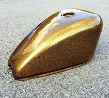 Gold Project Bike Bobber Chopper Harley Sportster Style Motorcycle Fuel Tank