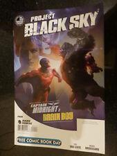 Dark Horse Project Black Sky Captain Midnight and Brain boy FCBD 2014