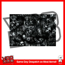 ZOMBIE STICKERBOMB SHEET- 2m x 1.3m  (WALKING DEAD / CAR STICKERS /SKULL)
