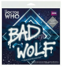 Doctor Who Bad Wolf Graffiti Flexible Vinyl Car Magnet Decal, NEW SEALED