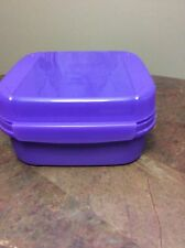 Tupperware Canister 1619 5 Cup Container NEW Bright Purple Never Used!!