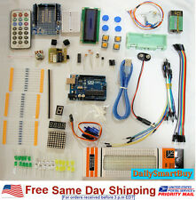 Arduino starter kit UNO R3 Kit  - LCD1602, Stepper & servo motor and much more