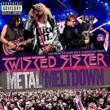 TWISTED SISTER New Sealed 2017 LIVE IN LAS VEGAS DVD & BLU RAY & CD BOXSET