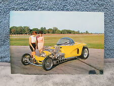 """Mysterion"" postcard, Big Daddy Ed Roth car, large size in color, exc. cond."