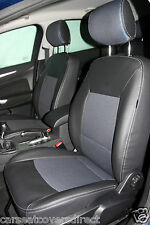 FORD MONDEO 3RD GEN BLACK AND BLUE CAR SEAT COVERS