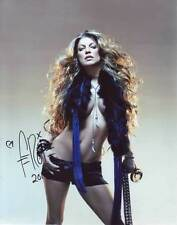 Fergie AUTHENTIC Autographed Photo COA Black Eyed Peas SHA #68251