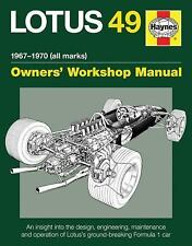 Lotus 49 Manual 1967-1970 (all marks): An insight into the design, engineering,
