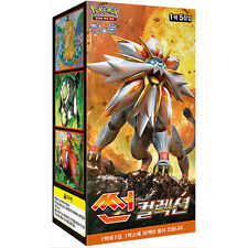 Pokemon Cards Game SUN & MOON 150 Cards SUN Collection Booster Box / Korean Ver.