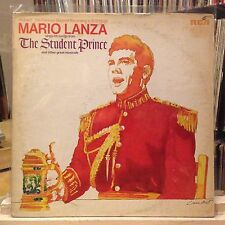 [CLASSICAL]~EXC LP~MARIO LANZA~The Student Prince~[1971~RCA~STEREO~Reissue]~
