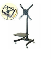 Mobile LCD TV Cart / Stand  Rotates Portrait to Landscape Free SameDay Shipping