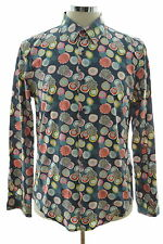 Desigual chemise homme large multi coton regular fit