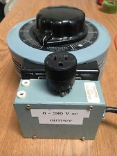 Powerstat 236B Variable Transformer Input 115V,  Output 0 - 280V, 2.8KVA, 10A