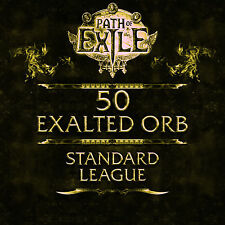 Path of Exile | PoE | 50 Exalted Orb - Standard League SC | Softcore