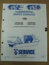 1991 Johnson Evinrude 155 HP WTL / WTX Commercial Outboard Parts Catalog 434254