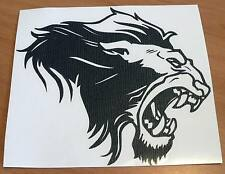 adesivo LEONE sticker decal vynil vinile king lion auto moto vetro wall safari