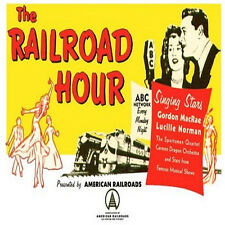 * THE RAILROAD HOUR (OTR) OLD TIME RADIO SHOWS * 147 EPISODES on MP3 DVD *