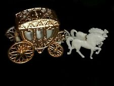 12 Cinderella Coach Wedding carriage Favor Plastic