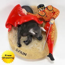 MATADOR BULLFIGHTING SPAIN 3D FRIDGE MAGNET KITCHEN SOUVENIR GIFT TOURIST TRAVEL