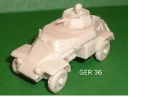 FRONTLINE WARGAMING SdKfz 223 LT ARMOURED CAR RESIN MODEL KIT - G28