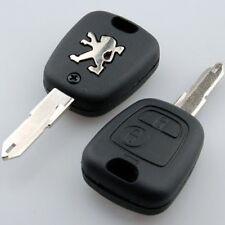 Carcasa llave funda para Peugeot 106 107 206 207 307 406  CON ESPADIN Y LOGO