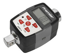 """Sealey STW291 Torque Adaptor with Angle Function Digital 1/2""""Sq Drive 20-200Nm(1"""