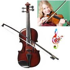 Violon Archet Enfant Instrument à Cordes Musique Jouet Entraînement Educational