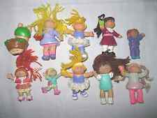 Lot of 10 Cabbage Patch Kids Dolls Figures Toys Mini Figure Toy Doll Set