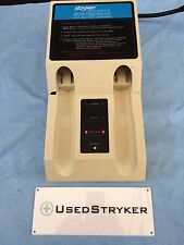 Stryker 2110-120 Two Station Battery Charger with Battery Adaptor 4110-112
