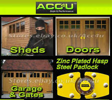Stoplock High Security Anti-Theft Home Garage Shed Gate Door Hasp Steel Pad Lock