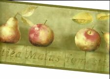 APPLE AND PEAR WALLPAPER  BORDER  YR 9424B