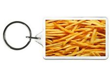 FRENCH FRY NOVELTY KEYCHAIN PICTURE PHOTO KEY CHAIN