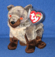 TY HOWL the WOLF BEANIE BABY - MINT with MINT TAGS