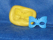 Mask Flexible Push Mold Rein Candy Paper Clay Chocolate Fondant Wax #713
