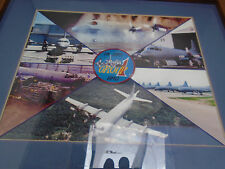 Framed Montage Photo 14 AMS Air Maintenance Squadron Aurora RCAF Base Greenwood
