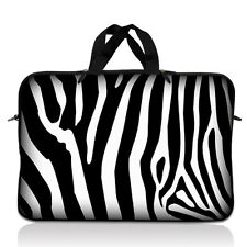 "13.3"" 13"" Notebook Laptop Bag Sleeve Case Apple Macbook Pro Chromebook Zebra"