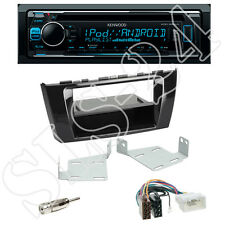 Kenwood KDC-300UV + Radio + Mitsubishi Space Star Blende black + ISO Adapter