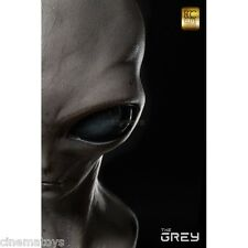ELITE CREATURE THE GREY Classic ALIEN Cinemaquette Toynami Life Size Bust 1:1