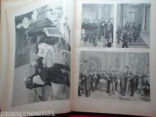 L'ILLUSTRATION Février 1899 à juin 1899, XIX ème
