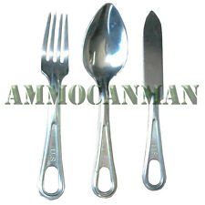 Mess Kit Fork, Knife, and Spoon  (25 Pack) Previously Issued