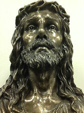 "Jesus Bust Large Religious Church Chapel Statue sculpture 16"" Ship Immediately"