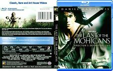 The Last of the Mohicans_Director's Cut ~ New Blu-ray ~ Daniel Day-Lewis (1992)