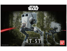 Star wars at-ST imperial Walker, modelo kit 1/48 de Bandai, nuevo con embalaje original