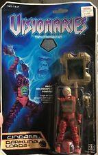 New Visionaires Cindarr Darkling Lords 1987 Hasbro Vintage Action Figure Rare